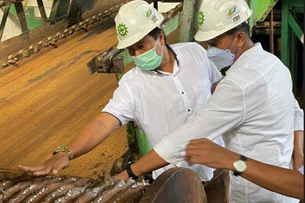 Direktur Holding Perkebunan Nusantara Tinjau Kesiapan Giling PTPN XIV