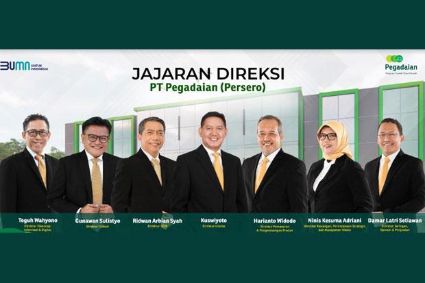 Menteri BUMN Angkat Ridwan Arbian Syah Sebagai Direktur SDM Pegadaian