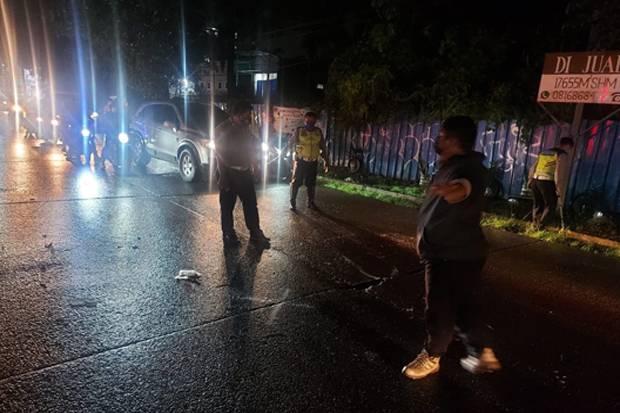 2 Motor Terlibat Kecelakaan di Pamulang, Kakek Berusia 71 Tahun Tewas