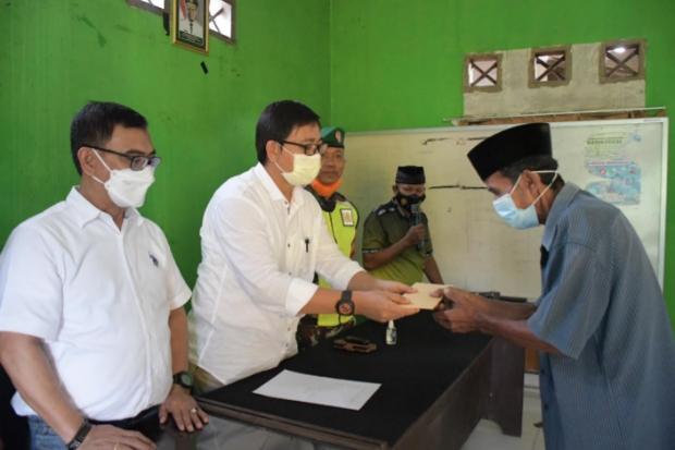 Korban Puting Beliung di Mappedeceng Terima Bantuan Rp46,2 Juta