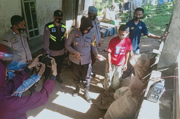 Dipasarkan saat Ramadan, Polisi Amankan 1.000 Liter Ballo saat Operasi
