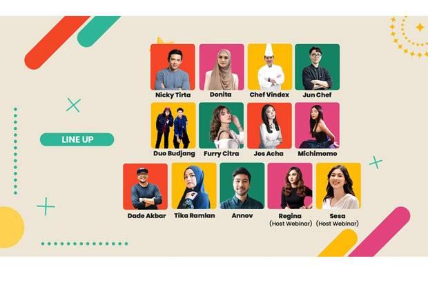 Yuk, Isi Waktu Nunggu Buka Puasa bareng Endeus.tv di Ngabuburit Festival 2021!