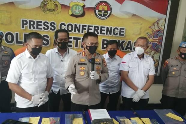Polisi Gulung Komplotan Pengganjal Mesin ATM di Cikarang