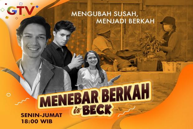 Menebar Berkah is Beck Bantu Wujudkan Dua Keluarga Penjual Makanan dan Minuman Keliling