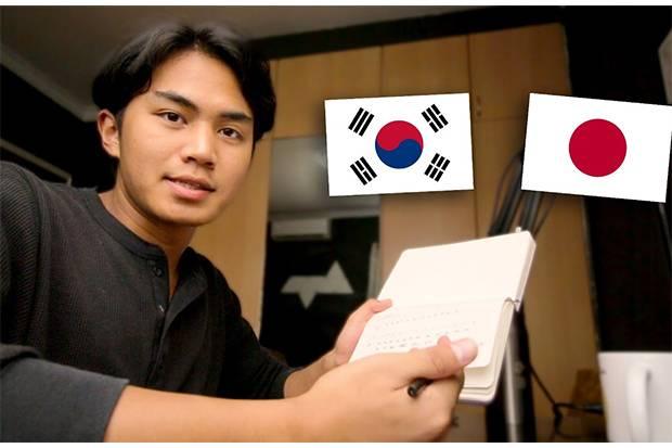 Zahid Azmi Ibrahim Belajar Bahasa dari Drama Korea dan Anime Jepang, Begini Caranya