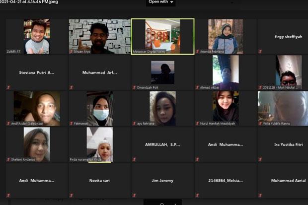 Makassar Digital Valley Angkat Tema Peran Menulis Kreatif untuk Branding