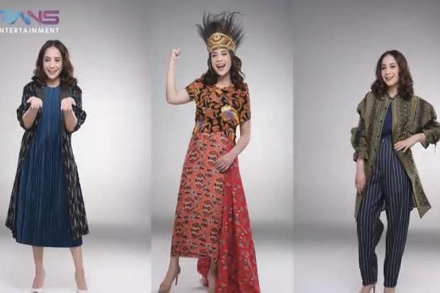 Jadi Duta PON XX, Nagita Slavina Cantik Kenakan Pakaian Tradisional Papua