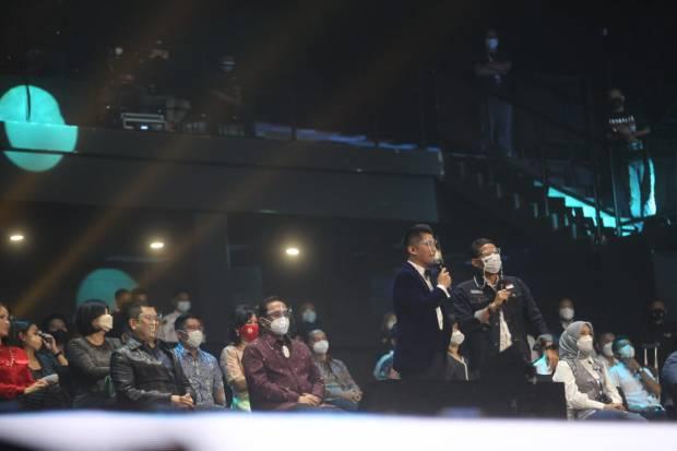 Hary Tanoesoedibjo, Liliana Tanoesoedibjo, Hingga Menparekraf Sandiaga Uno Hadiri Final Result Indonesian Idol Special Season