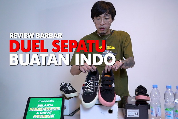 Sepatu Lokal Terbaik untuk Sehari-hari Pilihan Dokter Tirta