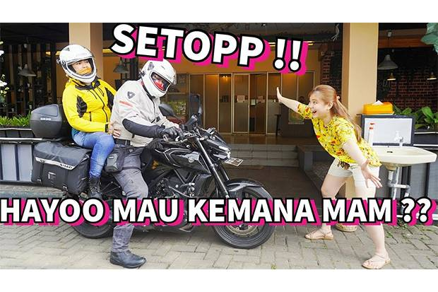 Fifin Liefang dan Amy Zein MasterChef Season 6 Reunian, dari Jakarta ke Banjarnegara Naik Motor