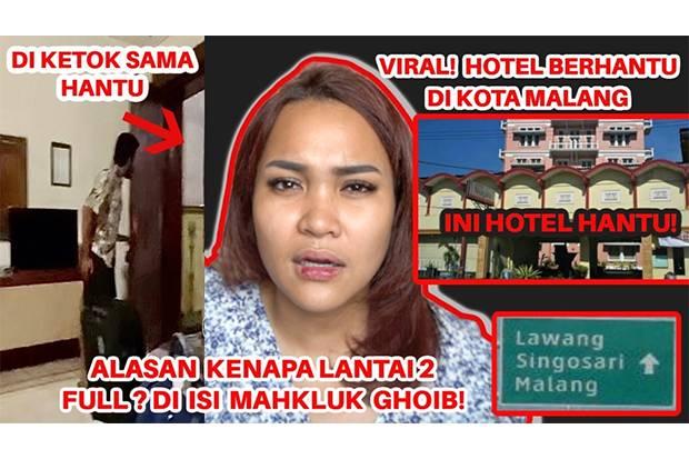 Ih Serem! Dinda Shafay Cerita Pengalaman Jelajahi Hotel Angker di Malang