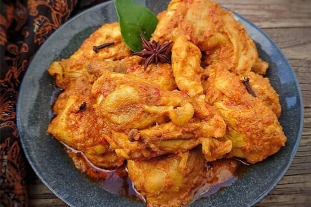 Resep Rendang Ayam, Lezat dan Tahan Lama