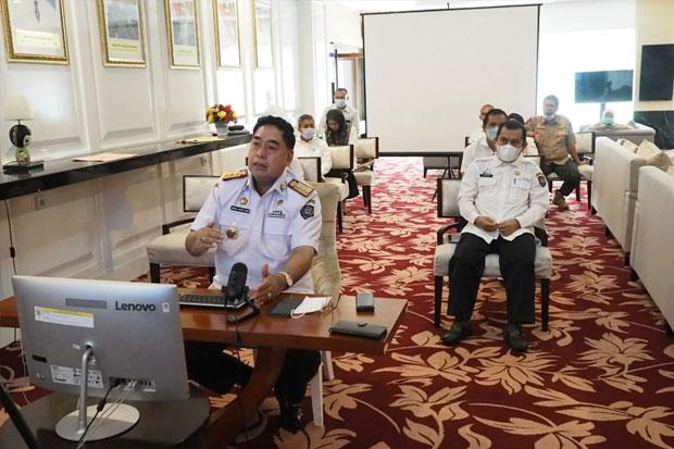 Abdul Hayat Hadiri Sosialisasi MCP Soal Perizinan dan Optimalisasi Pajak Daerah