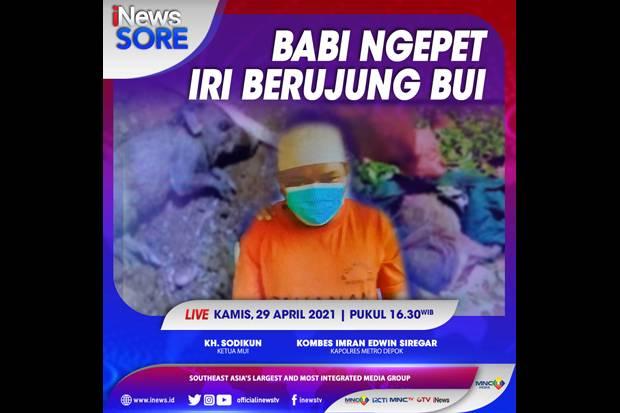 Babi Ngepet, dari Iri Berujung Bui. Selengkapnya di iNews Sore Kamis Pukul 16.30 WIB