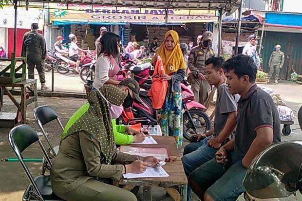 Tak Pakai Masker, 26 Warga Tanjung Priok Kena Sanksi Kerja Sosial