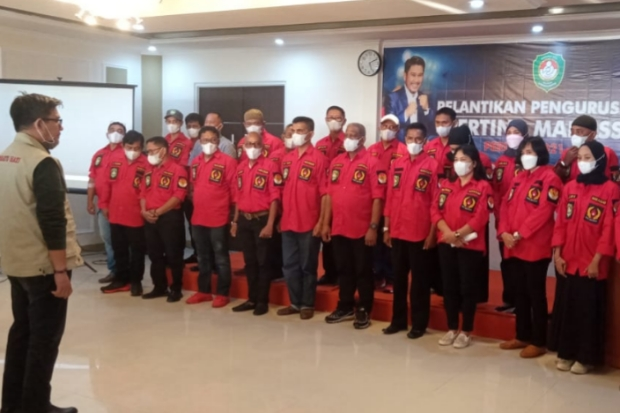 Pengurus Pertina Makassar Periode 2021-2025 Dilantik