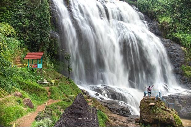 Air Terjun Eksotis Ini Bisa Jadi Pilihan Berwisata Lebaran di Jabar
