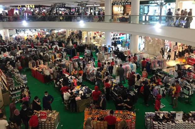 Pengunjung Sempat Membludak, Humas Mall Citraland Sebut Telah Terapkan Prokes
