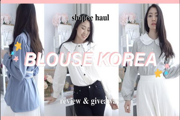 Rekomendasi Baju Korea di Bawah Rp100.000 yang Cocok untuk Bukber