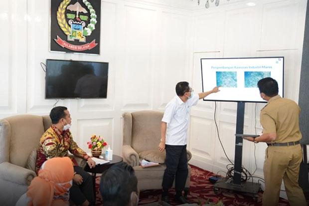 Plt Gubernur Dorong Pengembangan Kawasan Industri di Kabupaten Maros