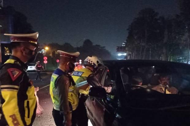 Hendak Mudik, 2 Travel Gelap Diamankan Polisi di Jalur Puncak Bogor