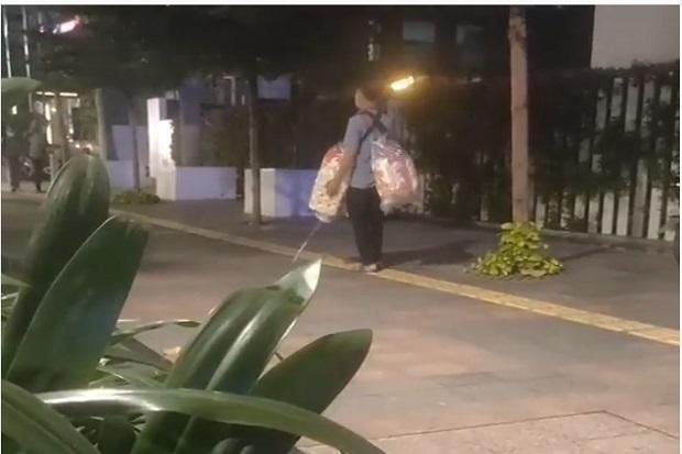 Viral Penyandang Tunanetra Berjalan di Blok Kuning Trotoar, Warganet: Inilah Gunanya, Bukan Pajangan