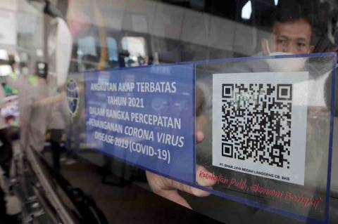 Dishub DKI: Tak Ada Ruang untuk Pemalsuan Stiker Bus