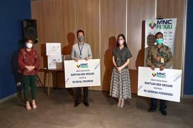 MNC Peduli Serahkan Emergency Bed kepada Sejumlah Rumah Sakit di Jakarta