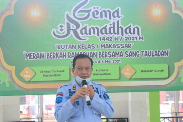 Rutan Makassar Adakan Lomba Gema Ramadhan untuk Warga Binaan