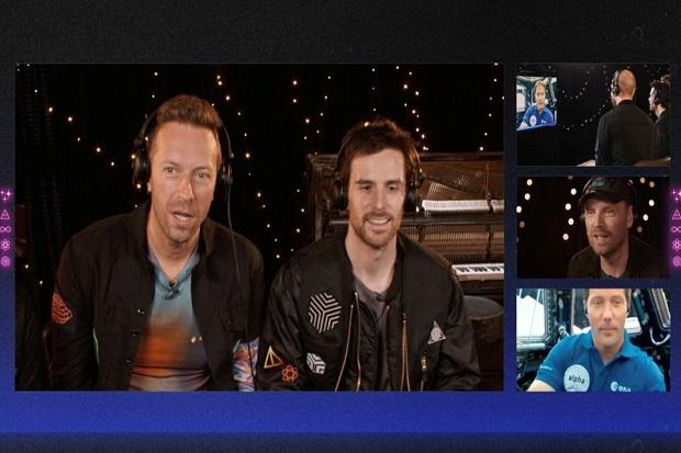 Coldplay Rilis Lagu Baru Higher Power di Luar Angkasa
