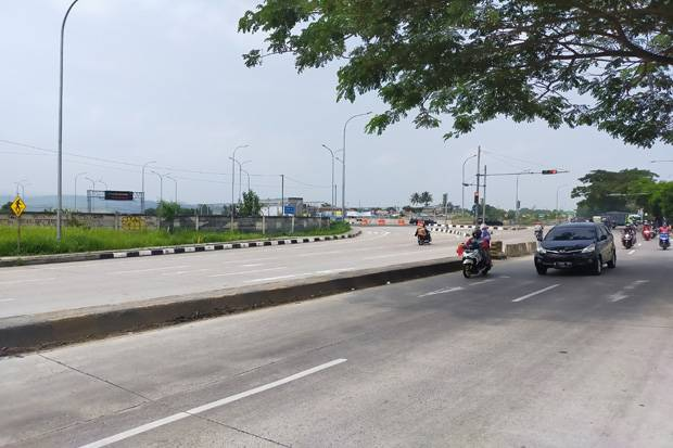 Jalur Perbatasan Bogor-Sukabumi Sepi Pemudik