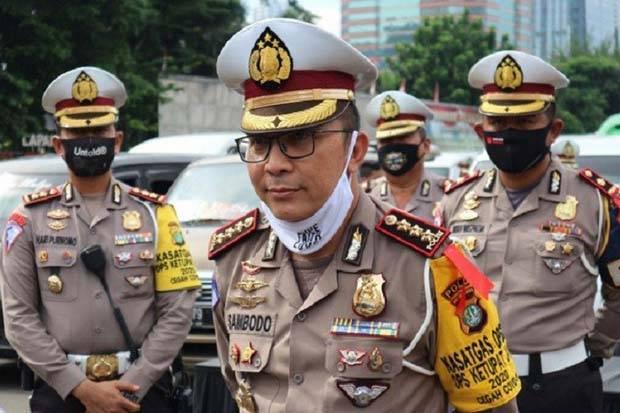 Polda Metro Jaya Dirikan 42 Pos Larangan Mudik, 4.312 Sepeda Motor Diputar Balik