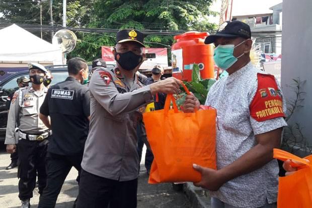 Wakapolda Metro Jaya Tinjau Vaksinasi di Paseban