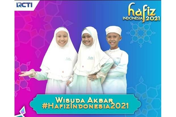 Wisuda Akbar Hafiz Indonesia 2021 Hadirkan 3 Peserta Terpilih