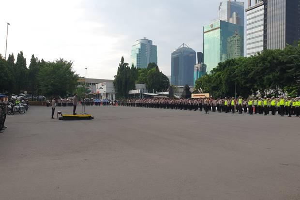 Polda Metro dan Kodam Jaya Gelar Patroli Skala Besar Pengamanan Malam Takbiran