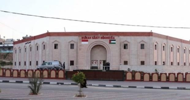 Rumah Sakit Indonesia di Gaza Rusak Sebagian akibat Serangan Israel