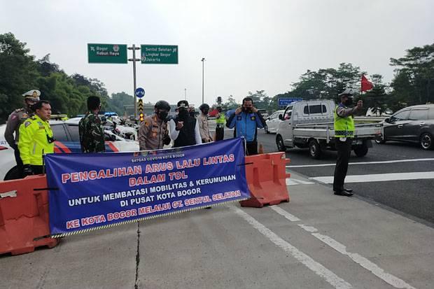 Kurangi Kepadatan Lalu Lintas, Kendaraan dari Tol Bogor Dialihkan Sementara