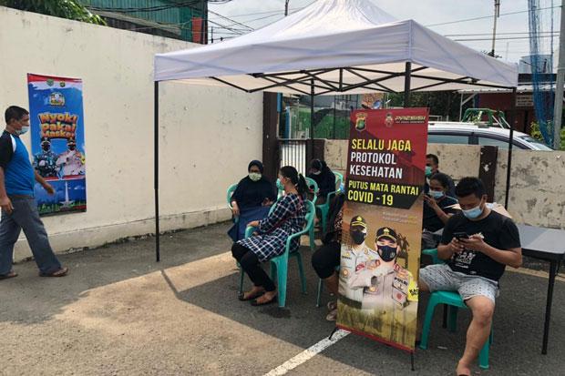 Tiba di Jakarta, Pemudik Dibawa untuk Lakukan Tes Swab Antigen