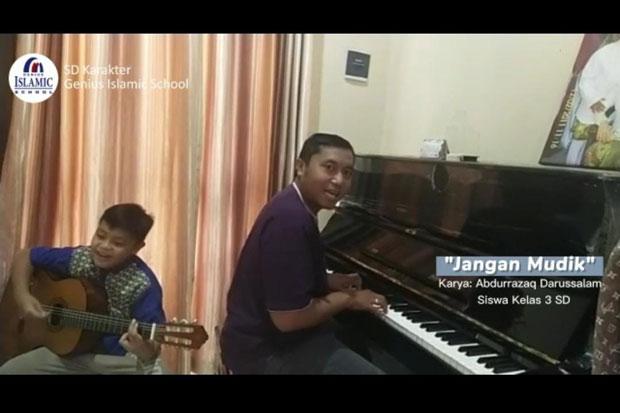 "Ciptakan Lagu ""Jangan Mudik"", Siswa Genius Islamic School Jadi Perhatian Publik"