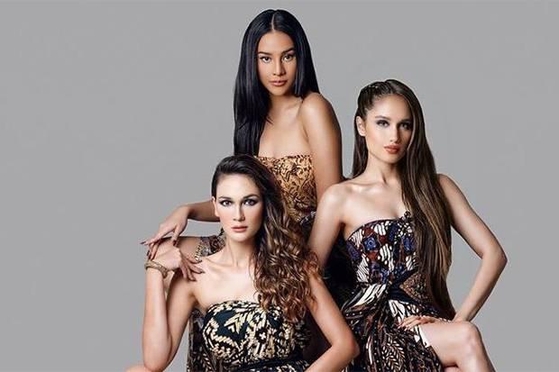 Luna Maya, Cinta Laura, dan Anya Geraldine menghebohkan netizen di linimasa media sosial setelah Luna mengunggah foto seksi mereka.