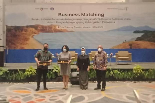 Mister Aladin bersama Kemenparekraf Gelar Business Matching untuk Dorong Pariwisata Sulut