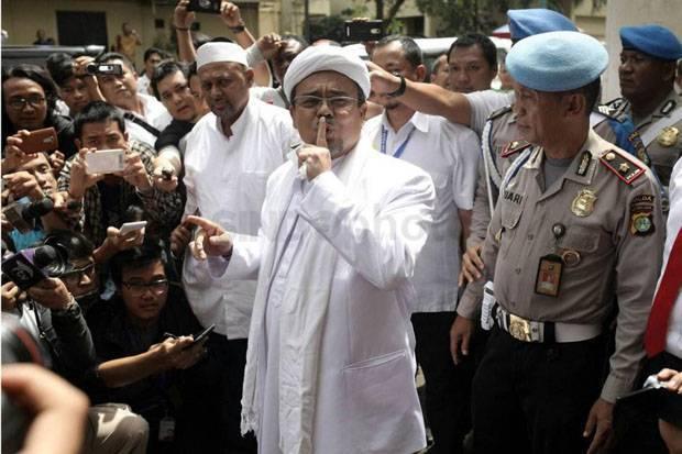Habib Rizieq Sebut Ada Operasi Intelijen Hitam
