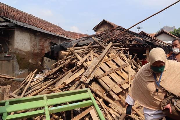 Korban Terdampak Banjir Bandang Cigudeg Bogor Capai 1.211 Jiwa