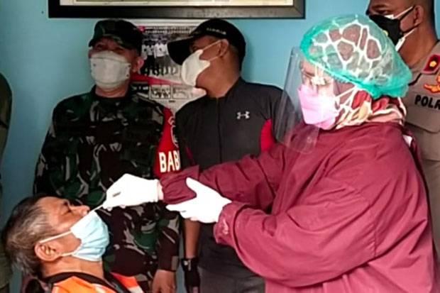 Pulang Mudik, 68 Warga di Cengkareng Dinyatakan Non-Reaktif Setelah Jalani Swab Test Antigen
