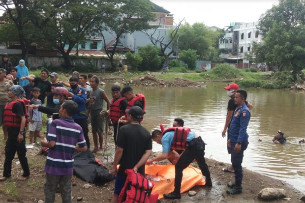 2 Orang Tewas Tenggelam di Kubangan Bekas Galian Stadion Mattoanging