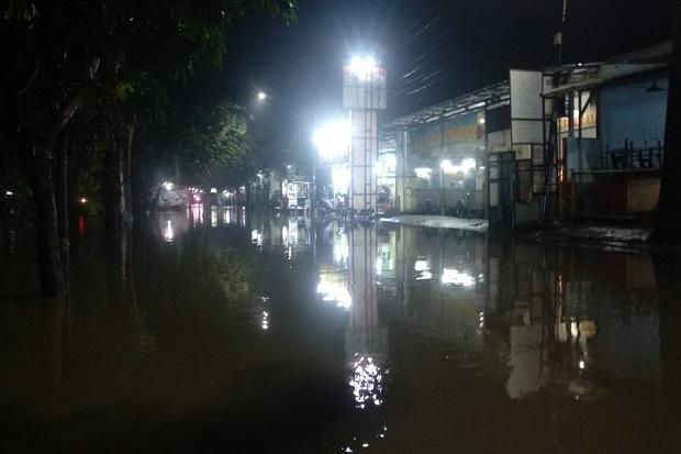 Hujan Lebat, Sejumlah Perumahan di Kota Bekasi Terendam Banjir