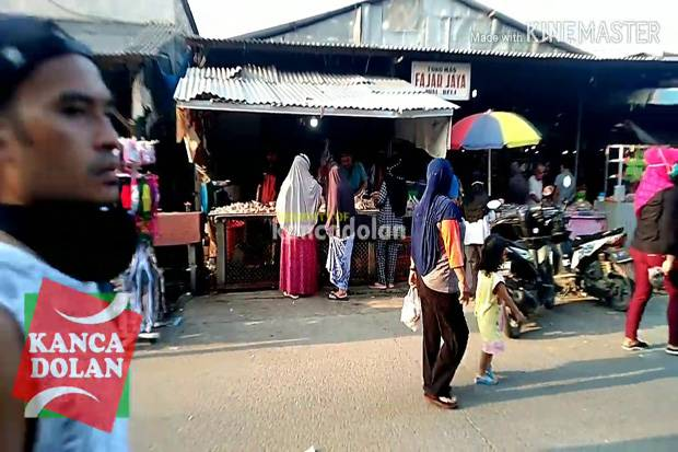 Nyeleneh, Begini Kisah Pasar Nyamuk Kota Tangerang