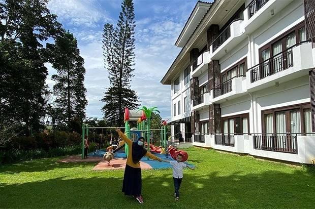 Lelah #DiRumahAja? di Lido Lake Resort Anak-Anak Nikmati Kegembiraan yang Hilang karena COVID-19