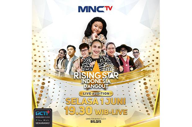 Bilqis Nyanyi Lagu Korea, Saksikan di Rising Star Indonesia Dangdut