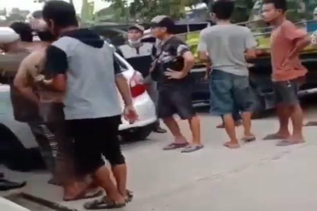 Viral! Anggota LSM Minta Jatah Rp300 Ribu ke Penjual Gas di Tangerang